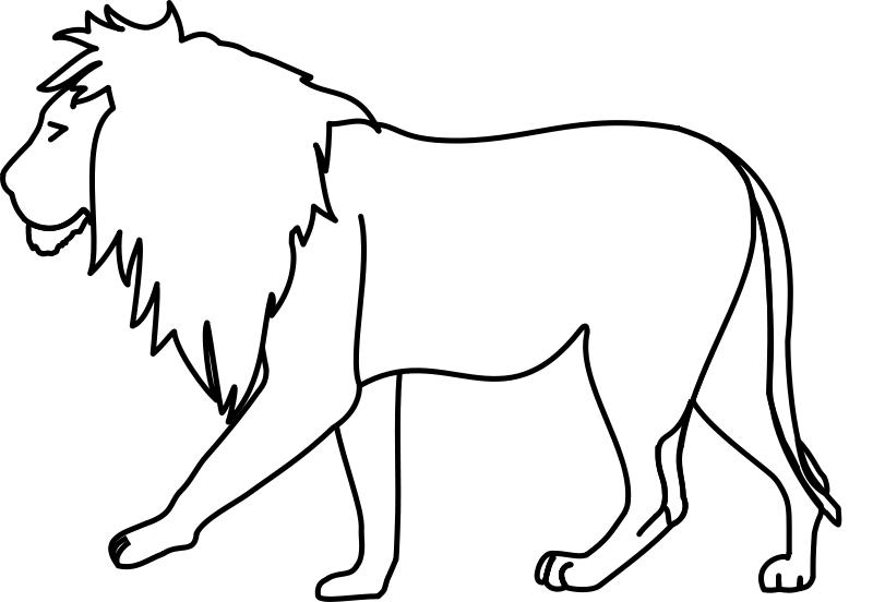 Lion Outline Clipart Clipart Best Clipart Best Download lion images and photos. clipartbest