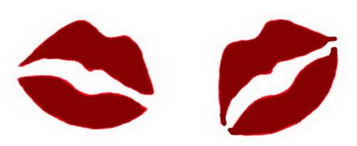graphic regarding Lip Stencil Printable titled Lips Stencil Printable - ClipArt Most straightforward