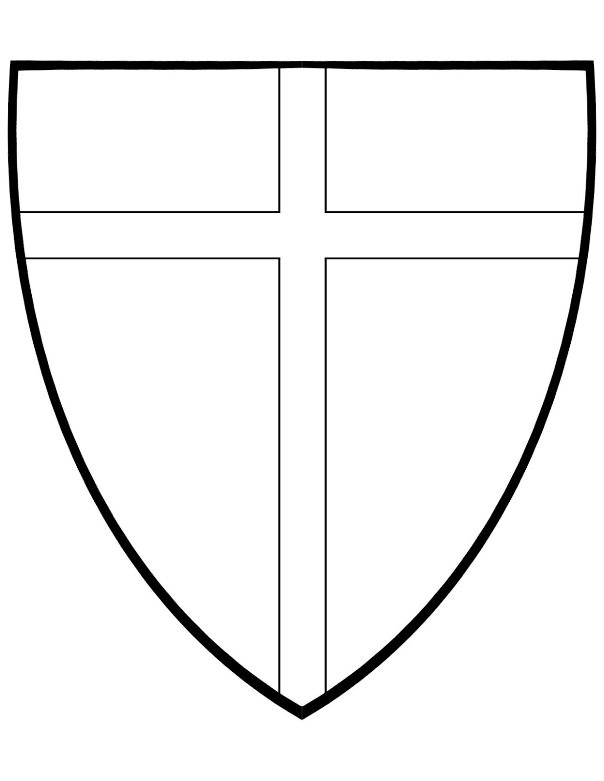 coloring pages american shield - photo#42