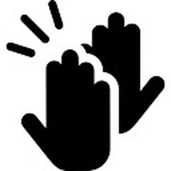 clapping hands black and white clipart best clapping clip art clapping clipart gif