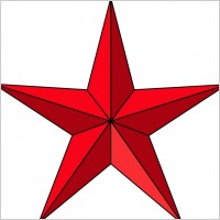 Red Star Clip Art - Free Clipart Images