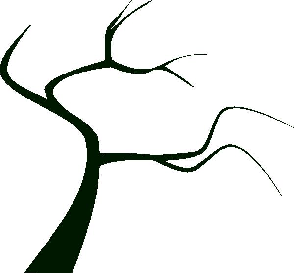 Dead Tree Silhouette c... Scary Tree Silhouette Clip Art