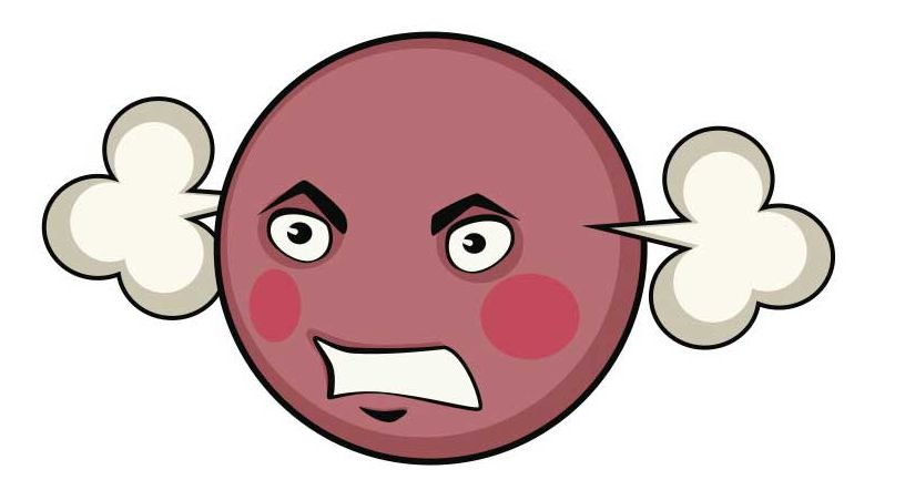Clipart Angry Face - ClipArt Best