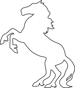 Rearing White Horse Tattoo Pictures To on ... - ClipArt ...