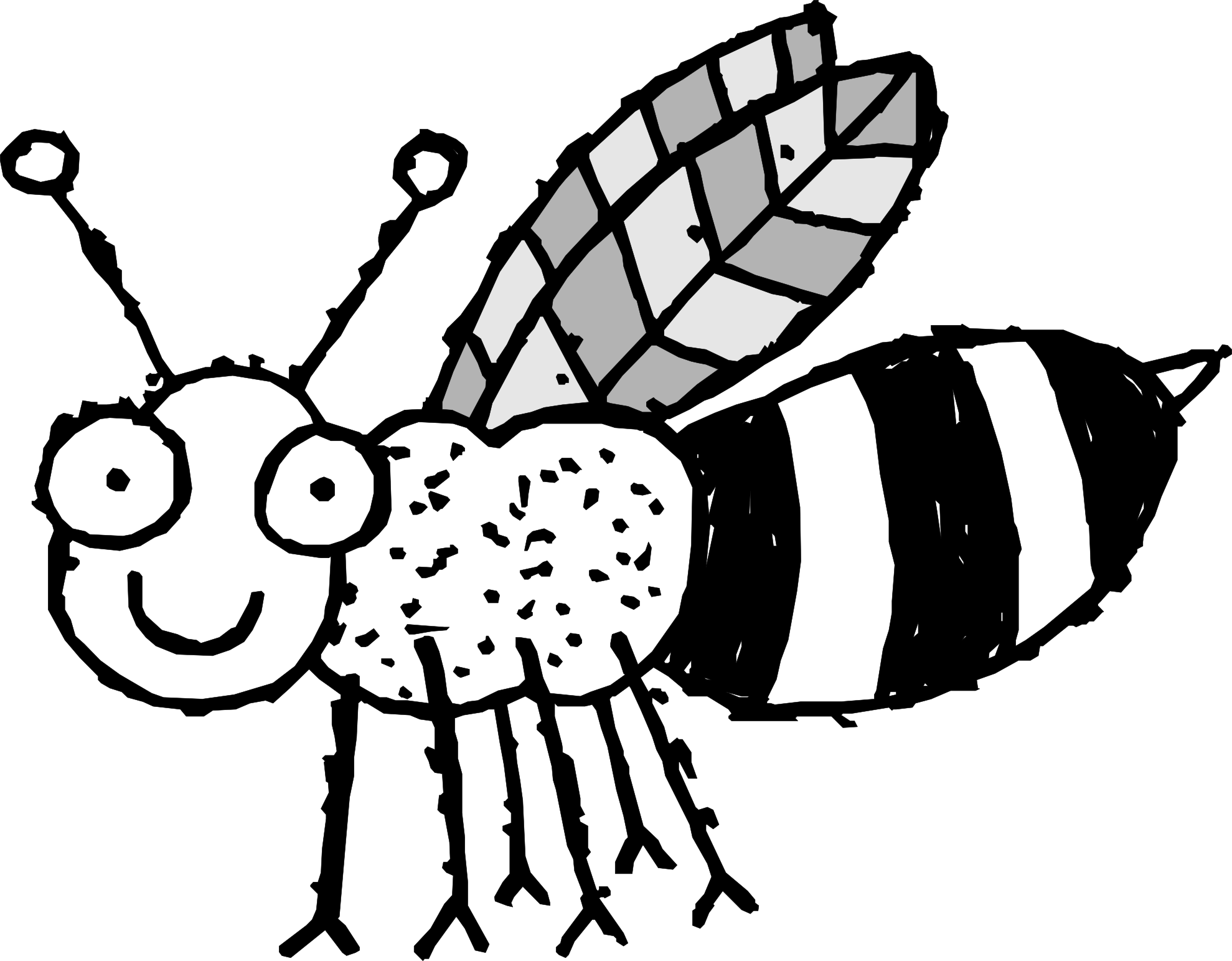 Pictures Of Bee For Coloring - ClipArt Best