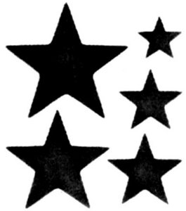 small star template printable free - star stencil printable clipart best