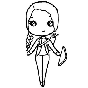 Blank Chibi Templates - ClipArt Best