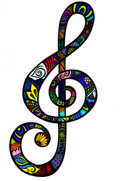 Treble Clef Artwork - ClipArt Best