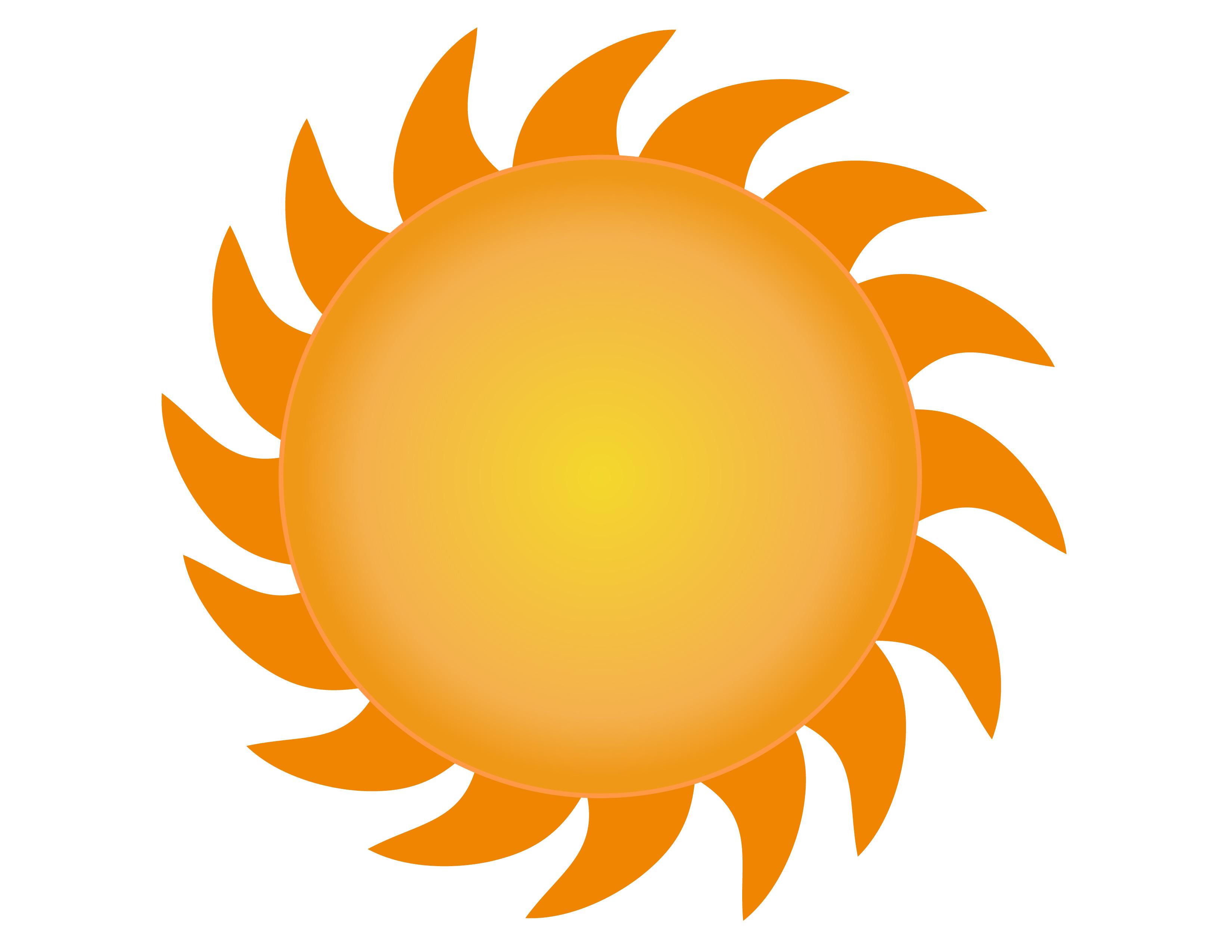 vector sun - photo #12