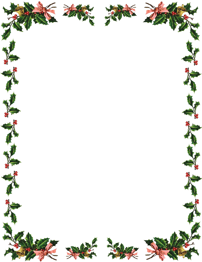 clipart xmas borders - photo #5