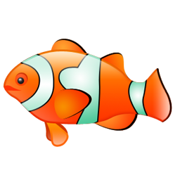 Free clown fish icon :: free for commercial use :: available in ...