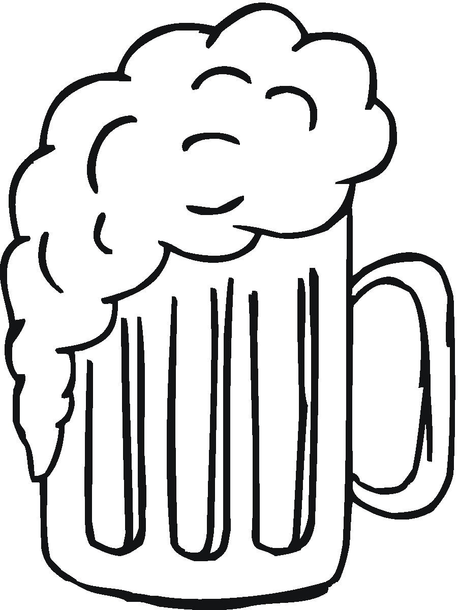 One Line Art Beer : Beer glass images clipart best
