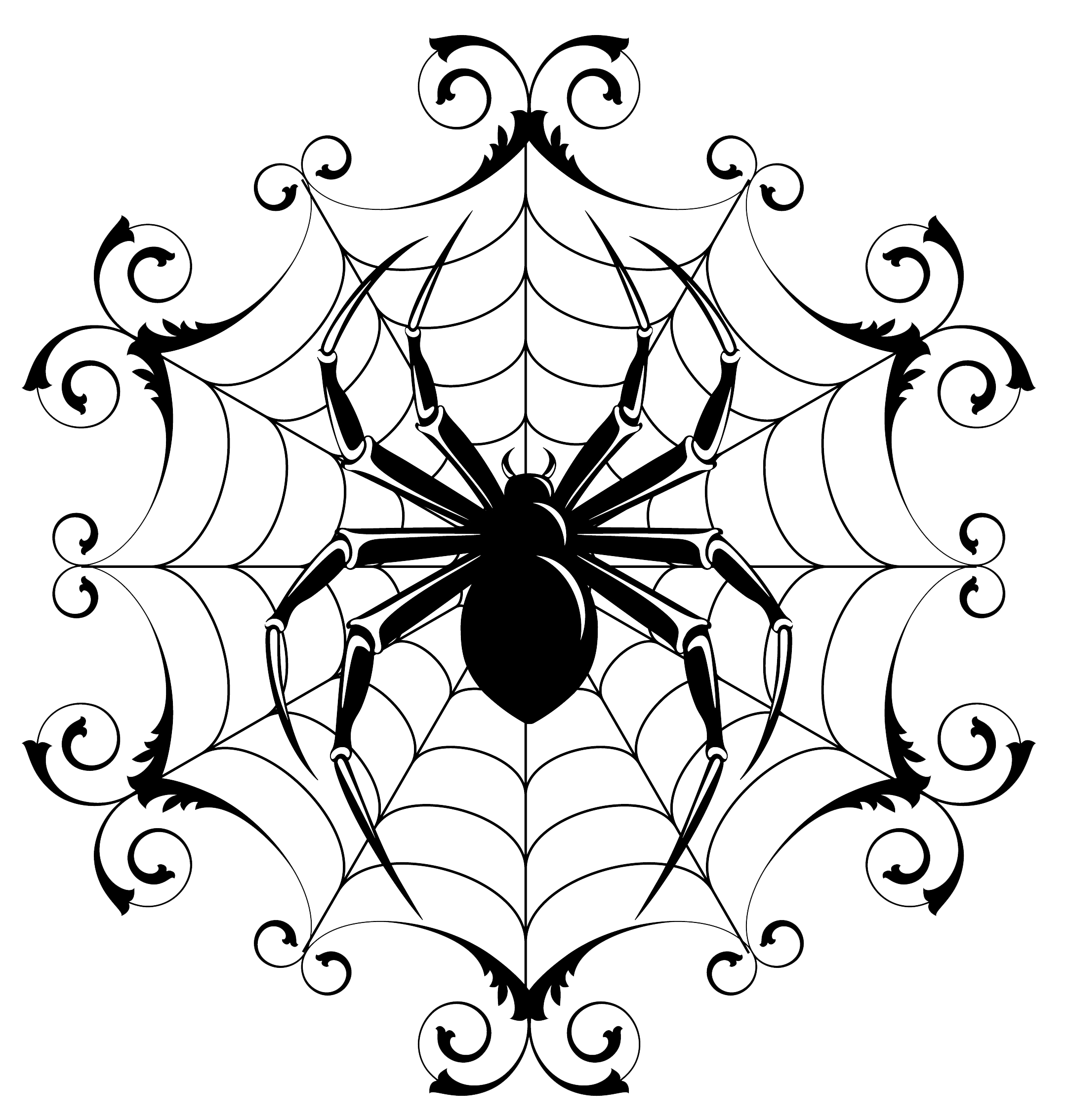 Spider Drawing Halloween - ClipArt Best - ClipArt Best