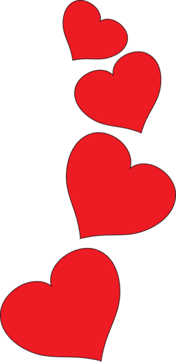 red heart pics   clipart best