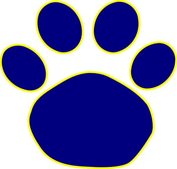 Bulldog Paw Print Clipart Best
