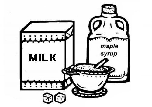 Milk Coloring Page Clipart Best Dairy Products Coloring Pages
