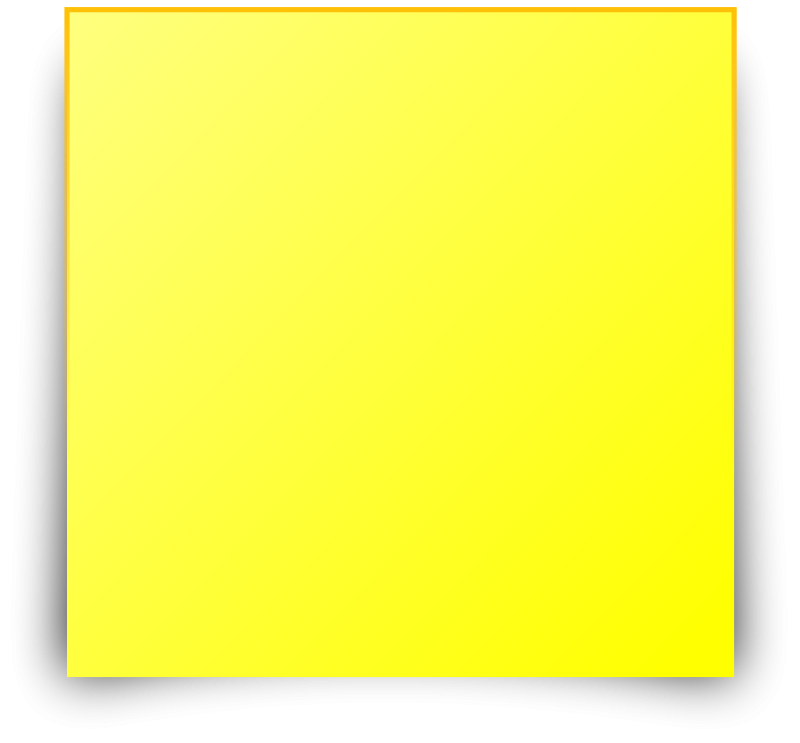 Clipart - Post It/Sticky note