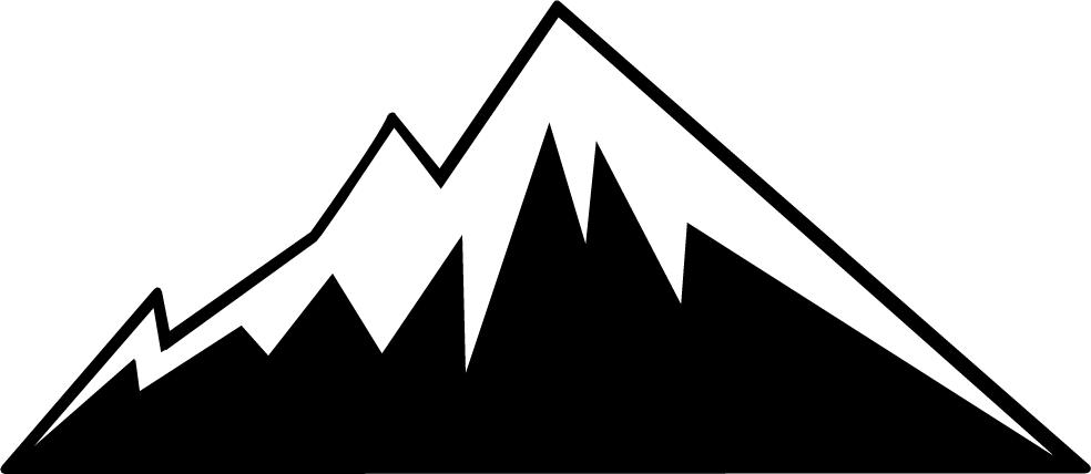 vector clip art mountain - photo #11