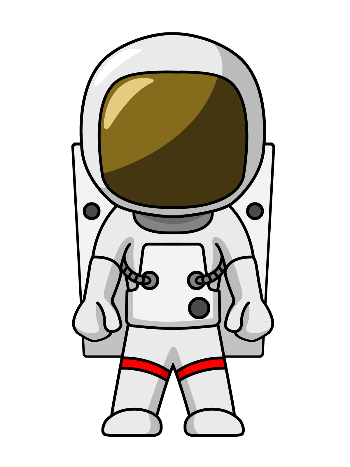 Free Printable Astronaut Mask - ClipArt Best