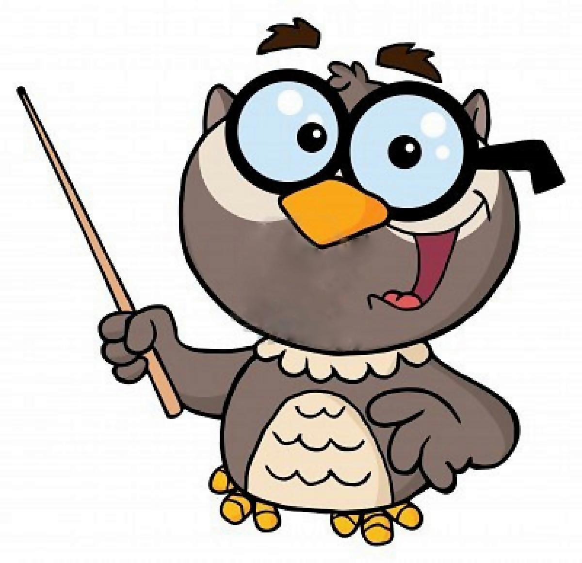 owl professor clipart - photo #3