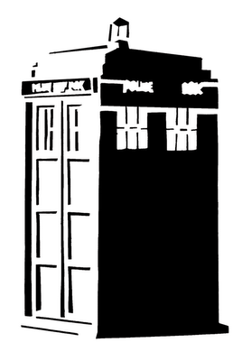 Clip Art Doctor Who Clipart doctor who tardis clip art clipart best doodlecraft stencil silhouette outline mania