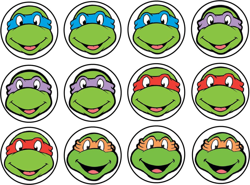 Ninja Turtle Faces - ClipArt Best