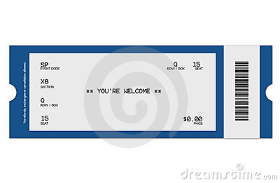 event ticket template clipart best