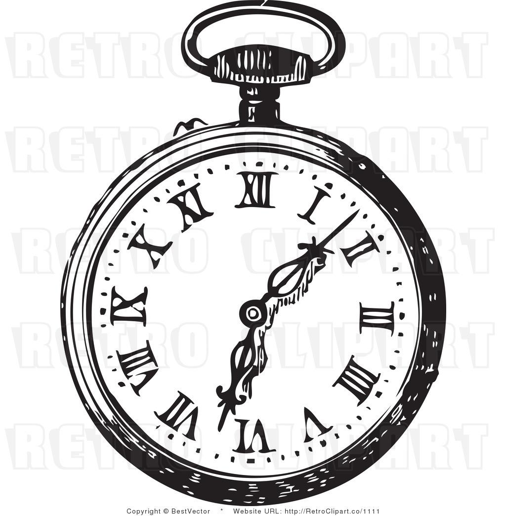 Pocket Watch Design - ClipArt Best