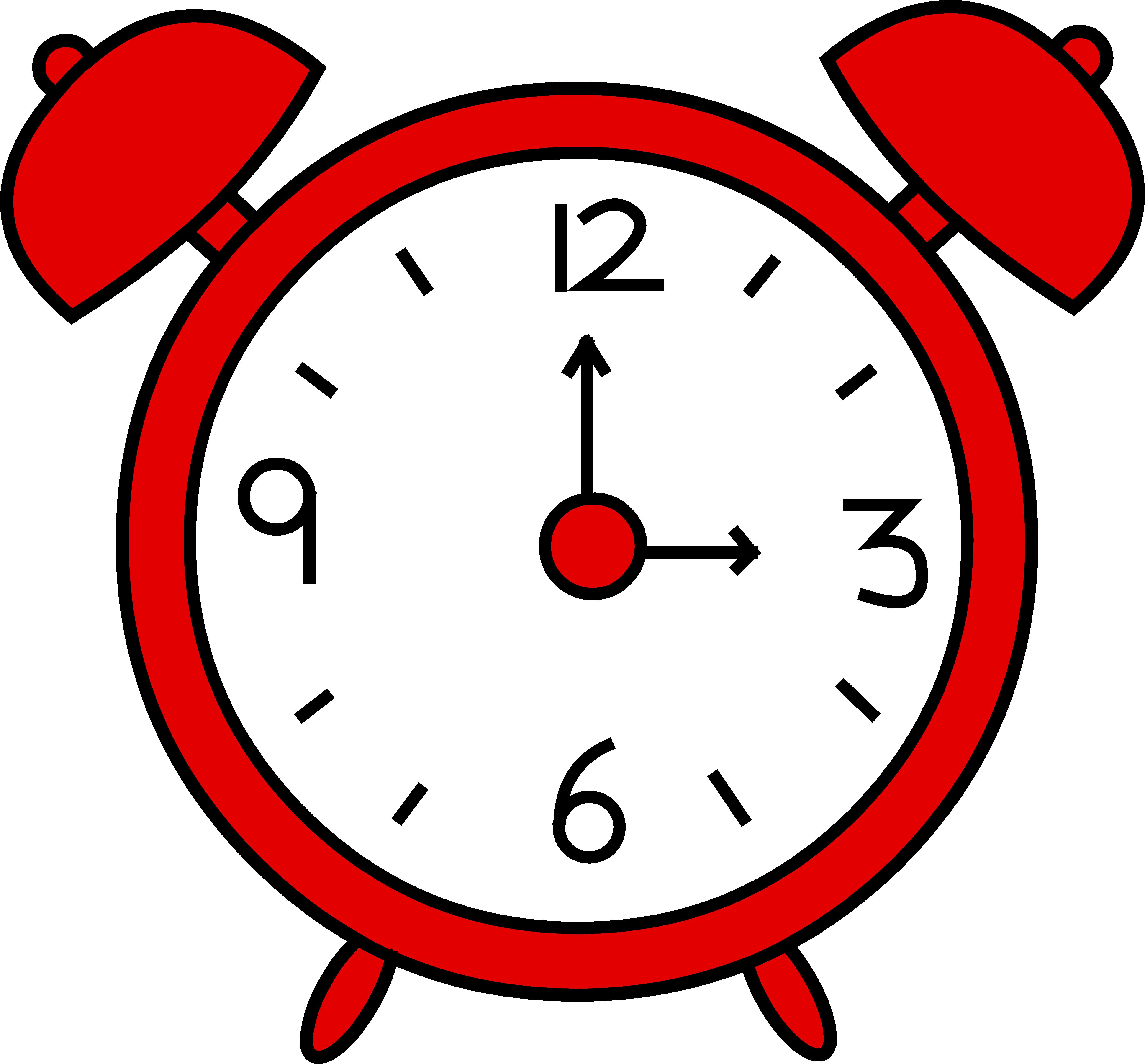 funny clock clipart - photo #37