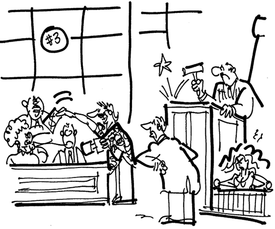 Courtroom Cartoon Pictures - ClipArt Best