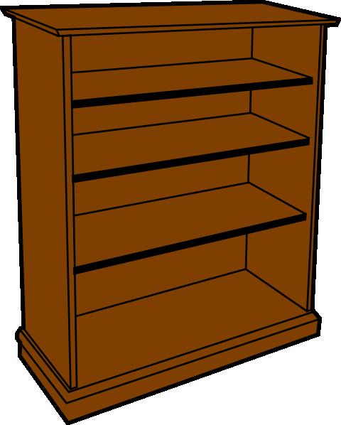 Bookshelf Clipart ClipArt Best