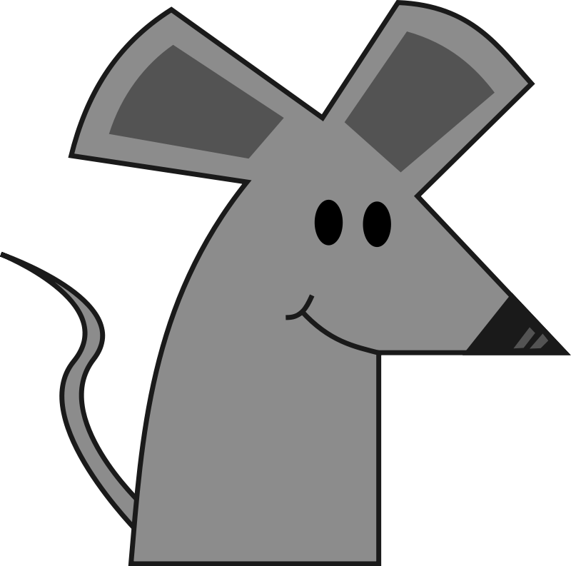 Animated mice clipart