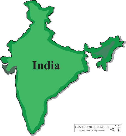 Map Of India Clipart - ClipArt Best