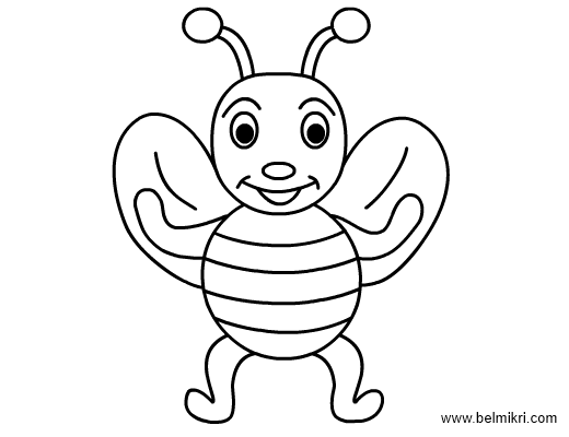 Bees Coloring Pages Free Printable Coloring Sheets For