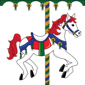 Carousel Horse Clipart Image