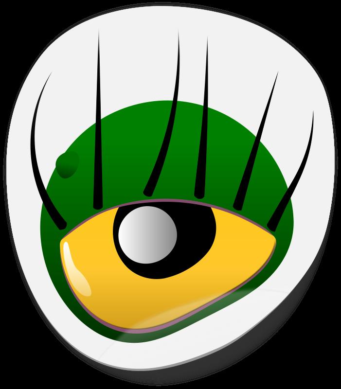 cartoon monster eyes   clipart best
