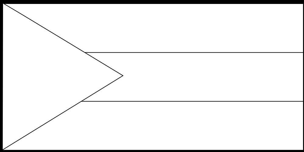 Bahamas Black White Line Flag Suparedonkulous Flagartist