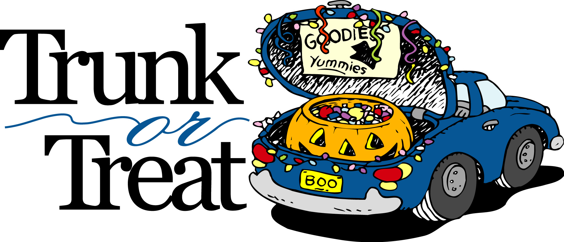 trunk or treat clipart clipart best Christian Youth Group Logos Woodland Youth Group Backgrounds