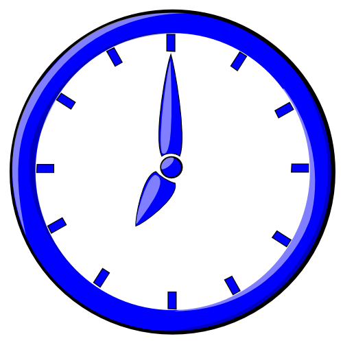 Free clocks clipart free clipart images graphics for Free clipart animations