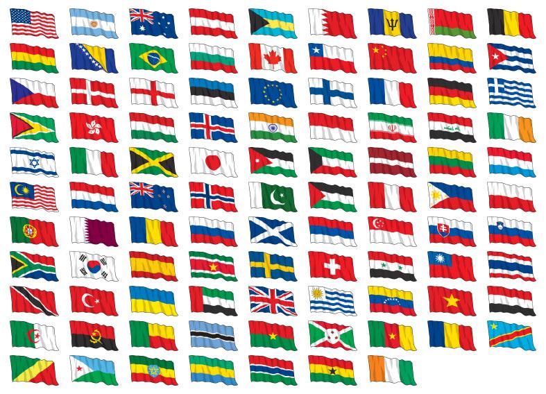 Как сделать флаг страны