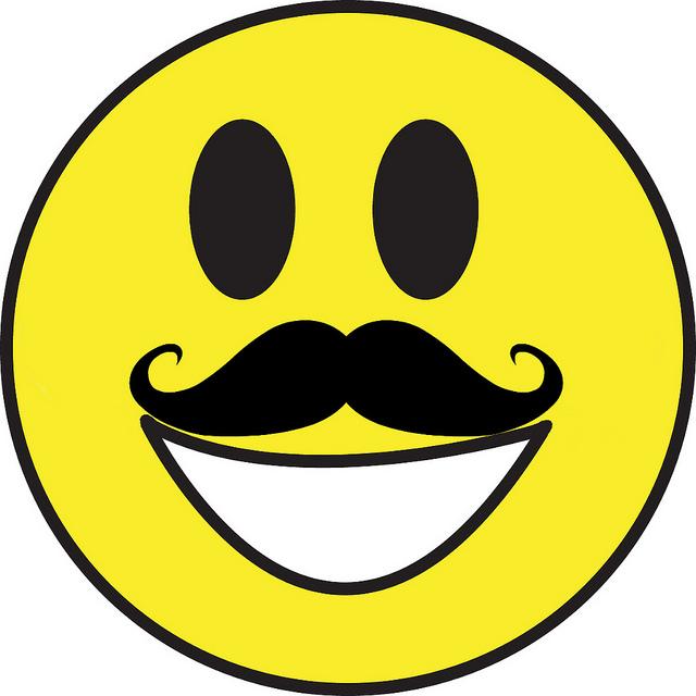Smiley Moustache - ClipArt Best
