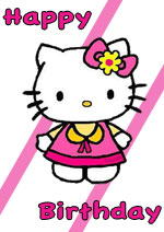 Happy birthday hello kitty images clipart best - Hello kitty birthday images ...