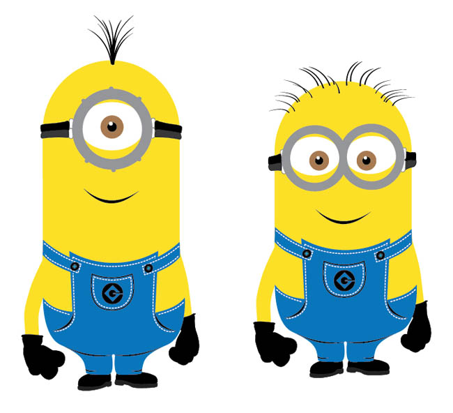 Clipart best for Minion overall template