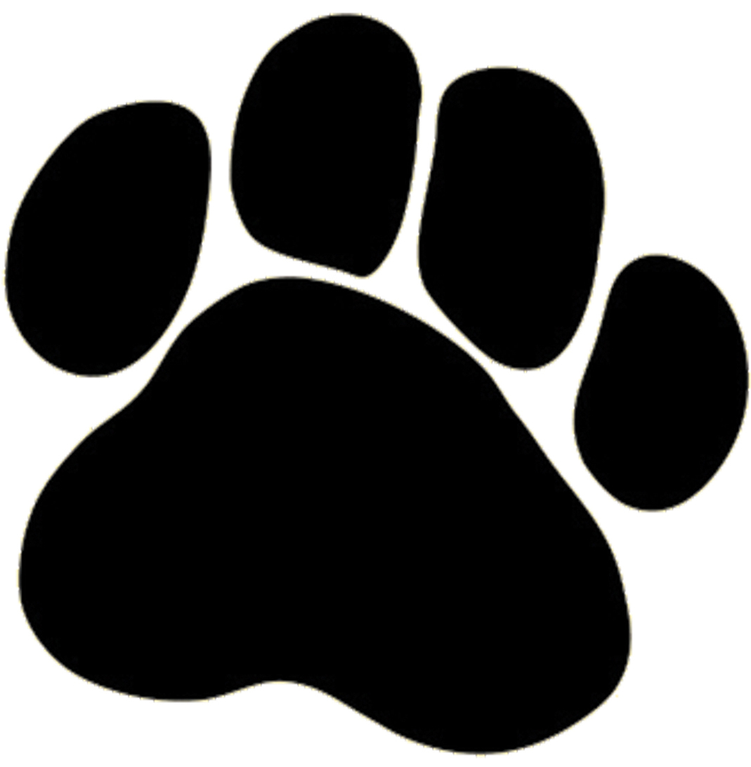 Dog Foot Logo Clipart - Free to use Clip Art Resource