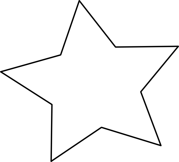 Large star template printable clipart best for Small star template printable free