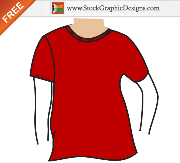 90+ T shirt Templates Vectors | Download Free Vector Art ...