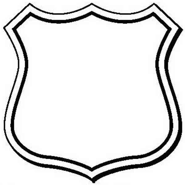 Blank Police Badge - ClipArt Best