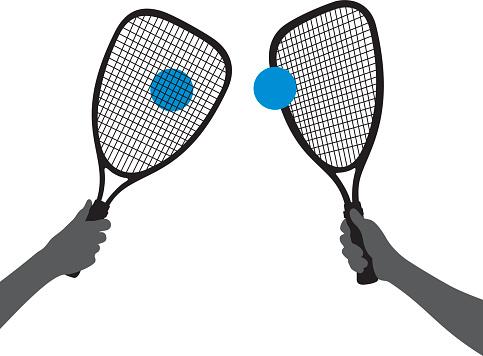 Racquetball clip art