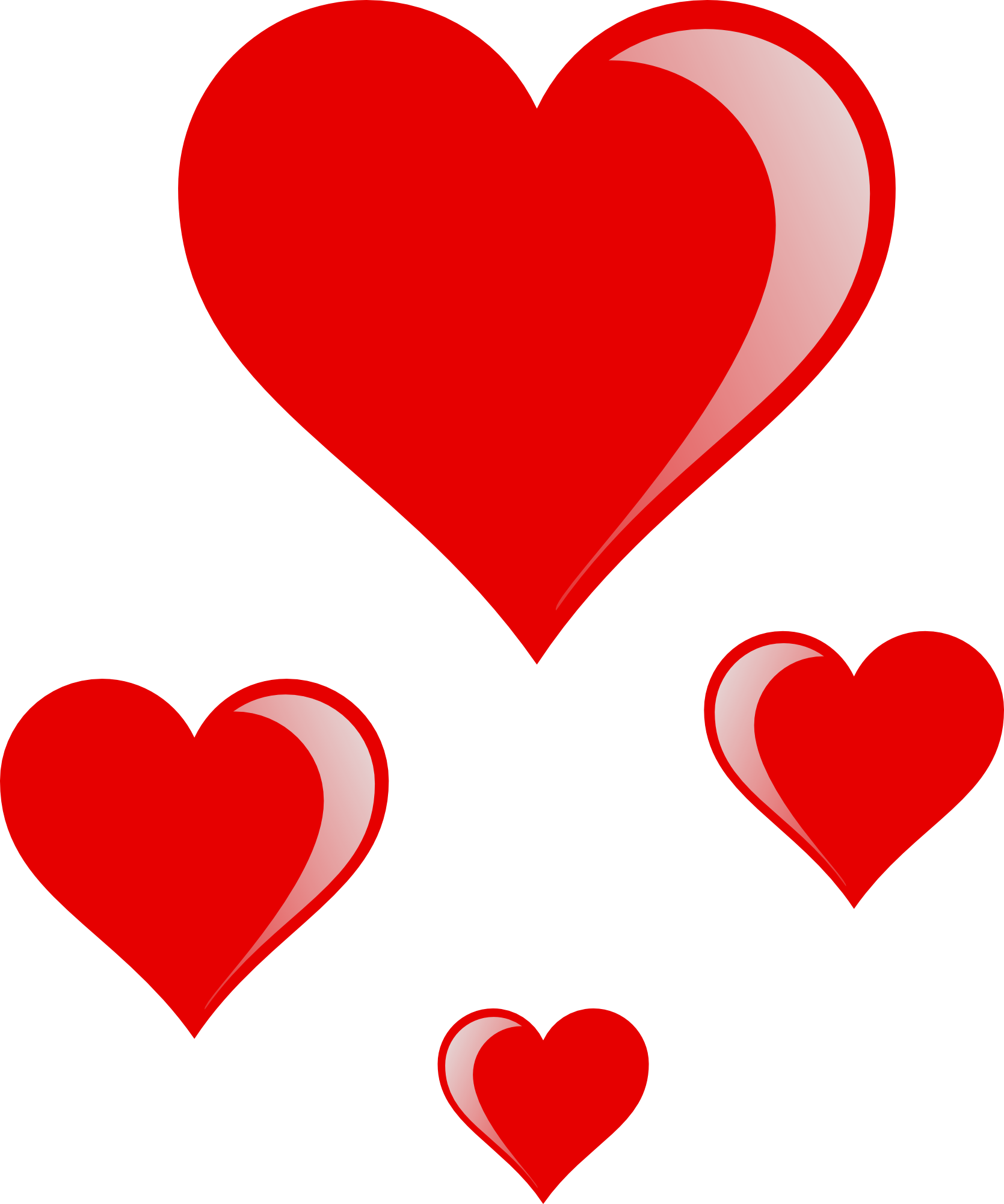 Valentines Hearts - ClipArt Best