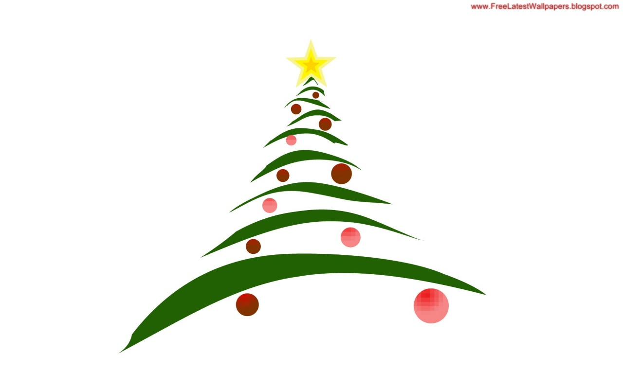 Cartoon picture of christmas tree clipart best